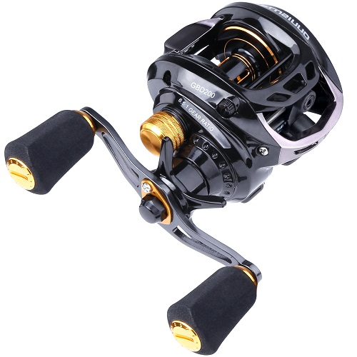 PLUSINNO Elite Hunter Baitcasting Fishing Reel- SDL